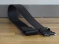 Kilt Belt black leather embossed from Geoffrey (Tailor) Scotland