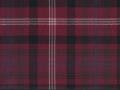 Claret Thistle tartan Geoffrey (Tailor) Scotland, Edinburgh, Glasgow, London