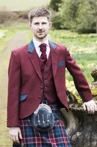 Contemporary Man Kilt Jacket