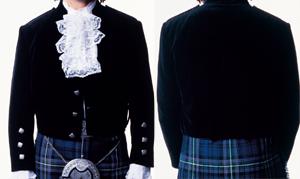 Kilt jackets, scotland
