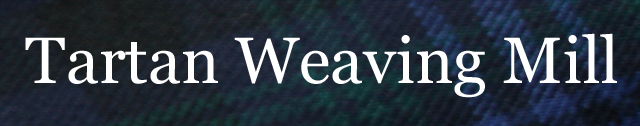 We will weave your own tartan at our specialst weaving mill
